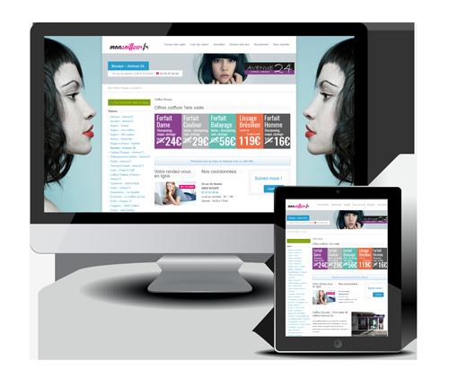 Création site Internet coiffeur